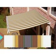 Beauty-Mark® MAUI® LX  Manual Retractable Awning  - Terra Cotta/Tan at Sears.com