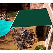 Beauty-Mark® MAUI® LX  Motorized Retractable Awning  - Forest at Sears.com