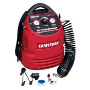 Craftsman 1.5 Gallon Portable Air Compressor with Hose and 8PC Accessory Kit at Sears.com