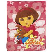 Nickelodeon Exclusive! Dora & Puppy Micro-Raschel Throw 50in x 60in at Kmart.com