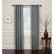 Jaclyn Smith Slate Blue Hopsack Window Panel with Grommets at Kmart.com