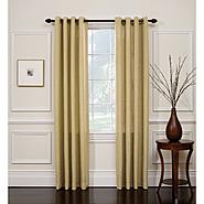 Jaclyn Smith Wheat Hopsack Window Panel with Grommets at Kmart.com