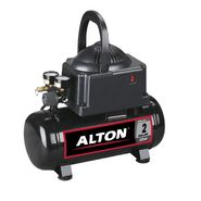 Alton Industries AT01101 2 Gallon, Oil-Free Hotdog Air Compressor with 25' Recoil Hose and Tire Chuck at Kmart.com
