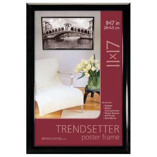 MCS Black Trendsetter Poster Frame, 11 x 17 Inch