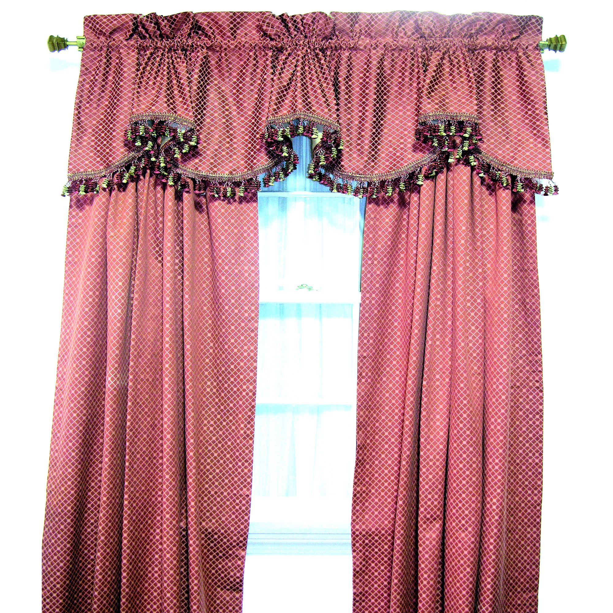 Delizia Window Tailored Valance, 75 X 16