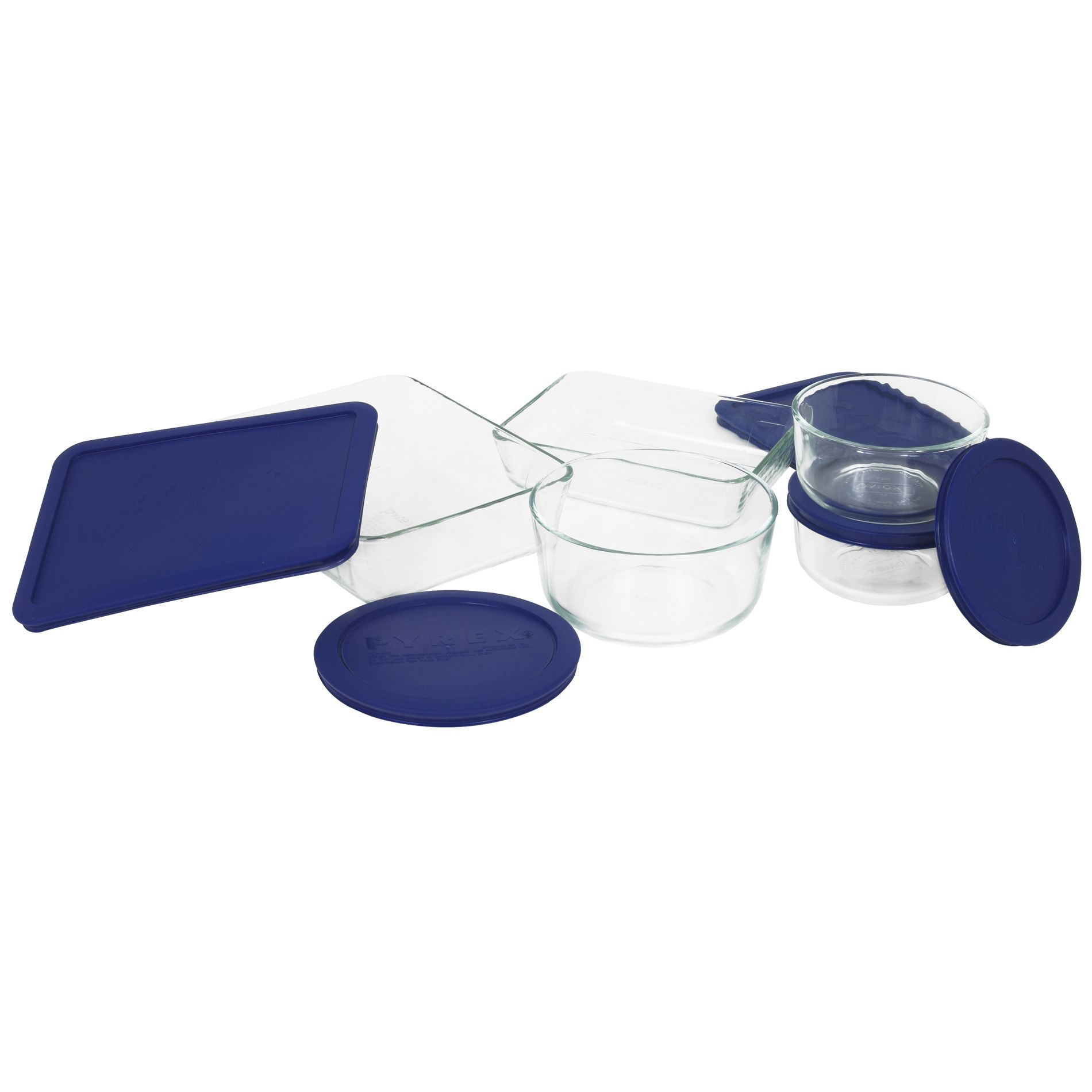 10 Piece Glass Container Storage Set With Covers