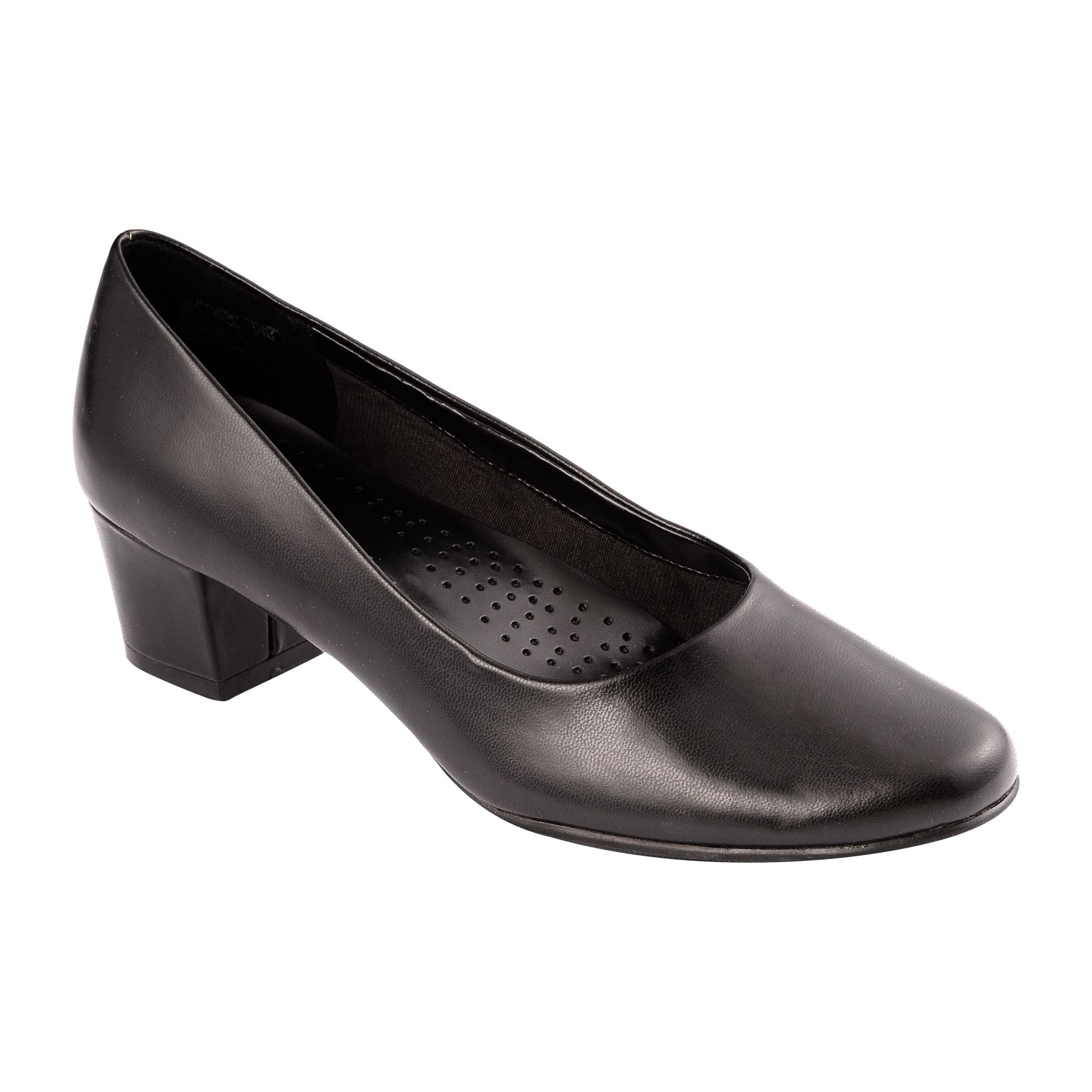 I Love Comfort Women's Dress Shoe Layla Wide Width - Black 7.5