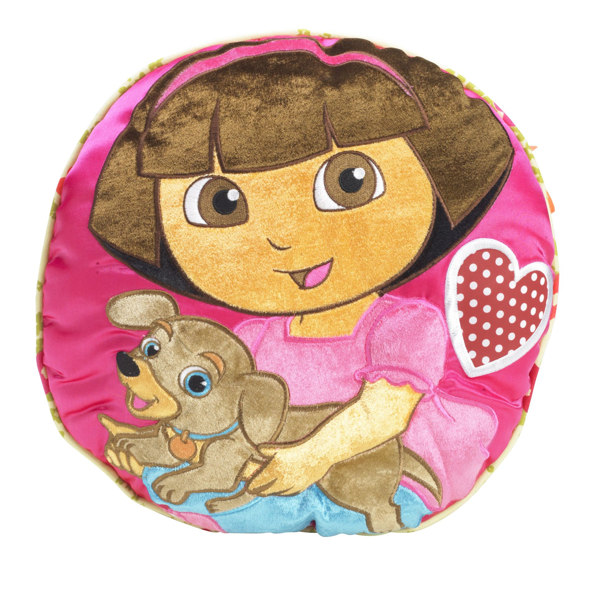 Dora And Puppy Decorative Pillow