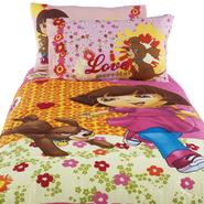 Nickelodeon Dora And Puppy Twin Comforter at Kmart.com