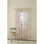 Country Living Ivory and Antique Rose Sweetbriar Floral Sheer Window Panels at Kmart.com