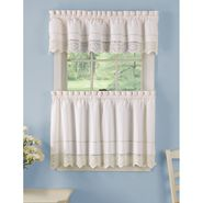 Crochet Tier Curtains And Valance Collection at Kmart.com