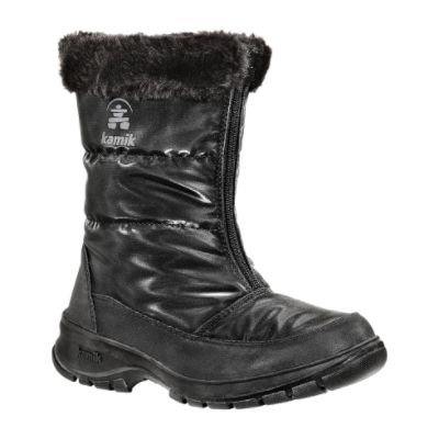 Kamik  Women's Winter Boot Piccadilly Waterproof - Black