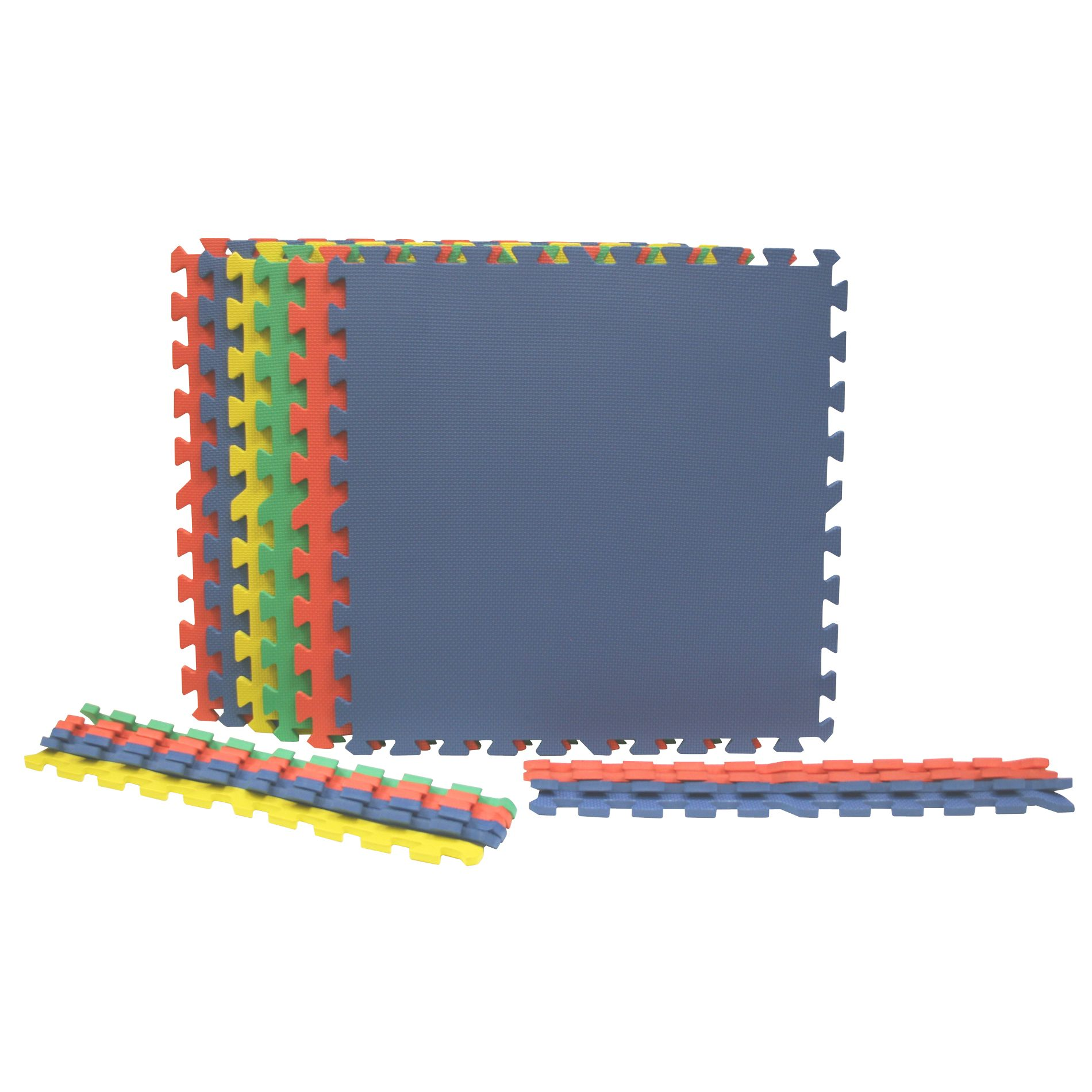 Best Step Primary Colors Foam Flooring - 6 pack