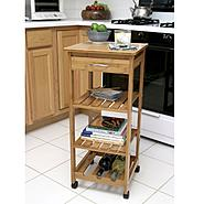Lipper Bamboo Kitchen Trolley at Sears.com