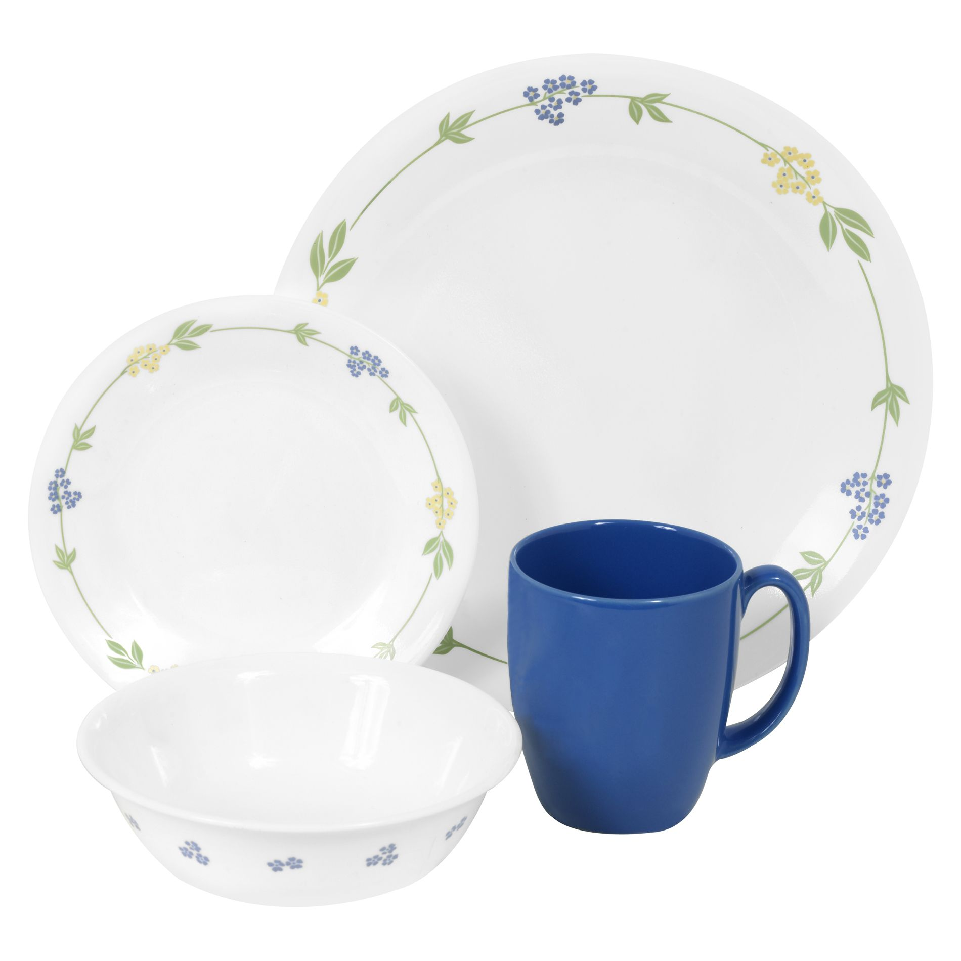 Corelle  Livingware Secret Garden 16Pc