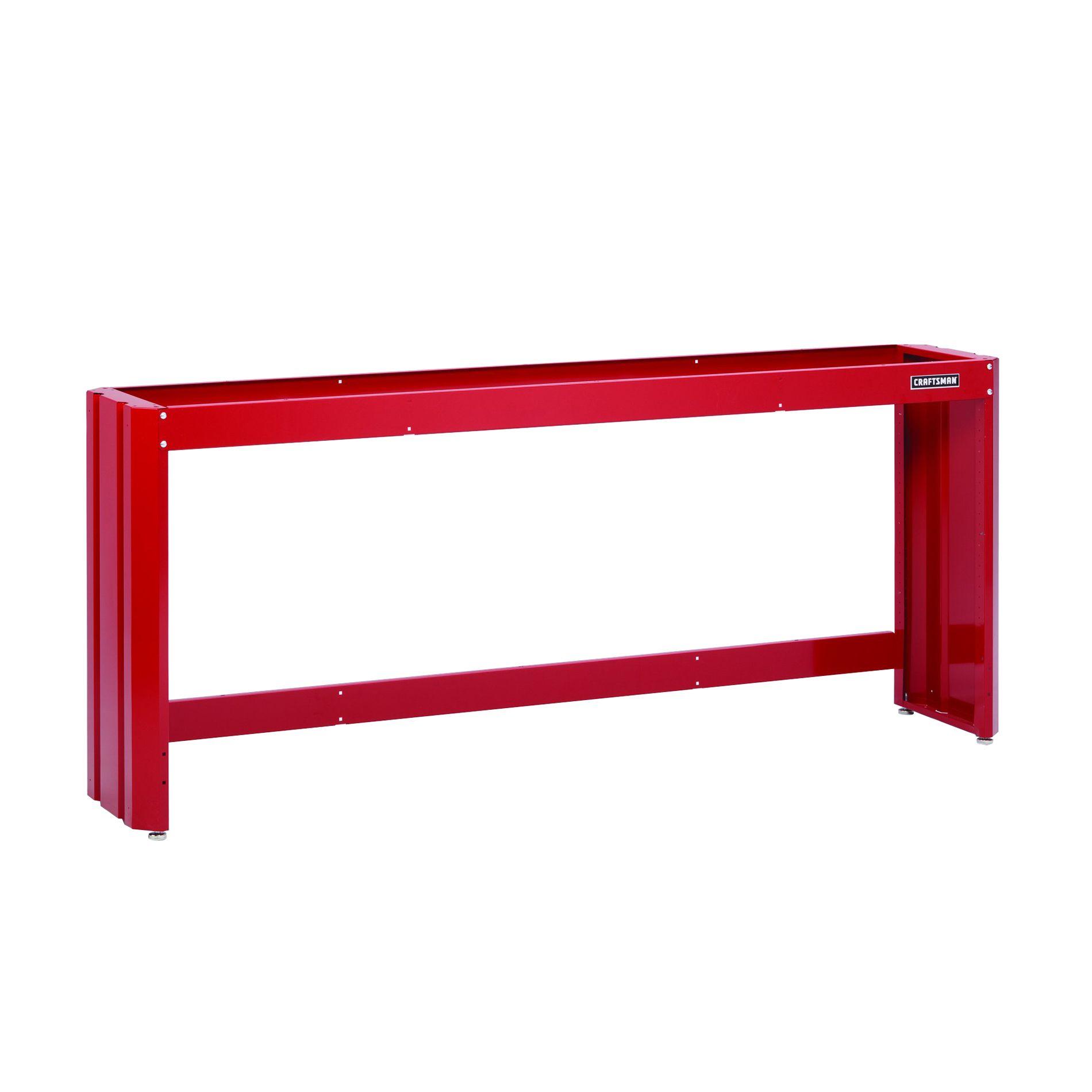 Craftsman 8' Workbench Frame - Red