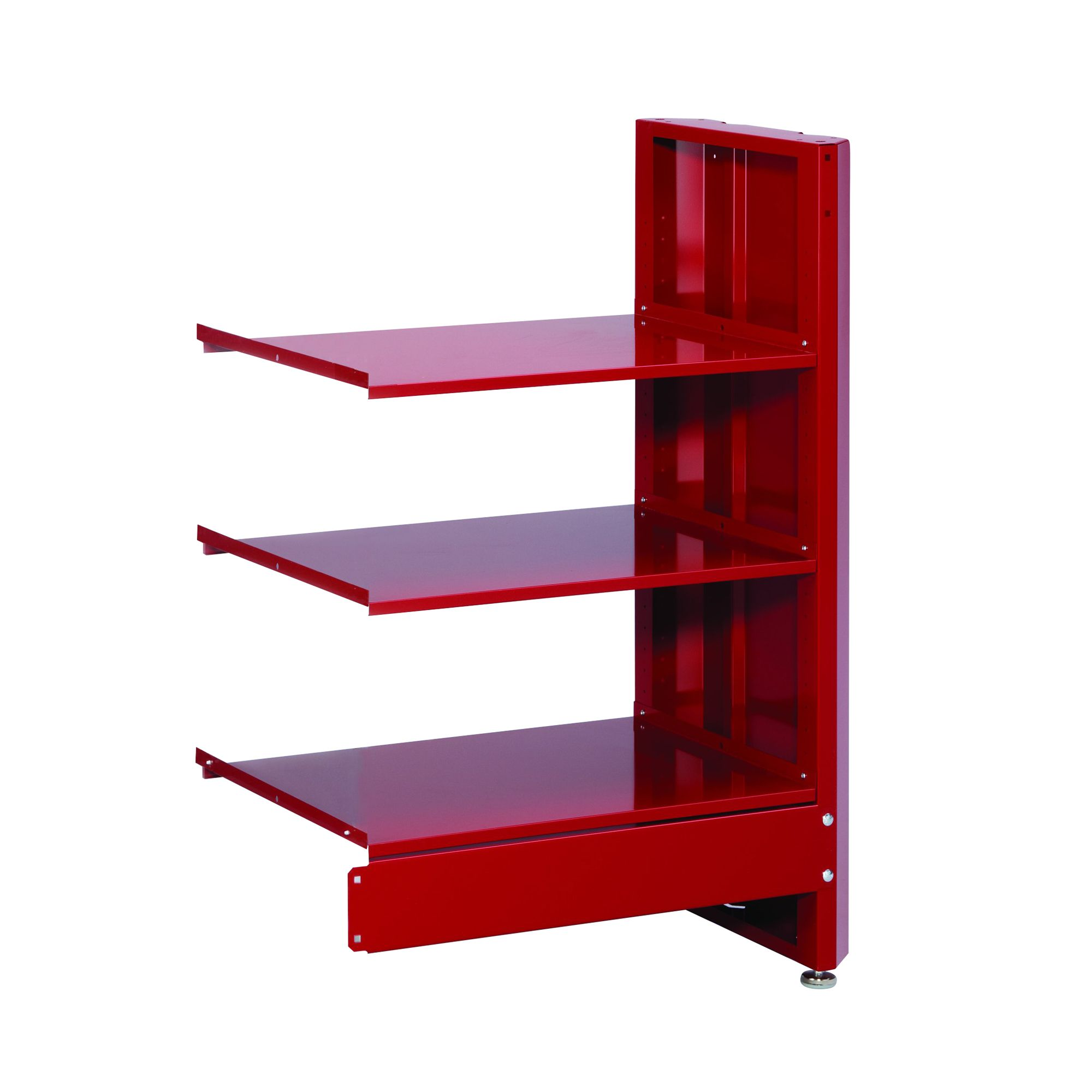 3-Shelf Storage Module - Red