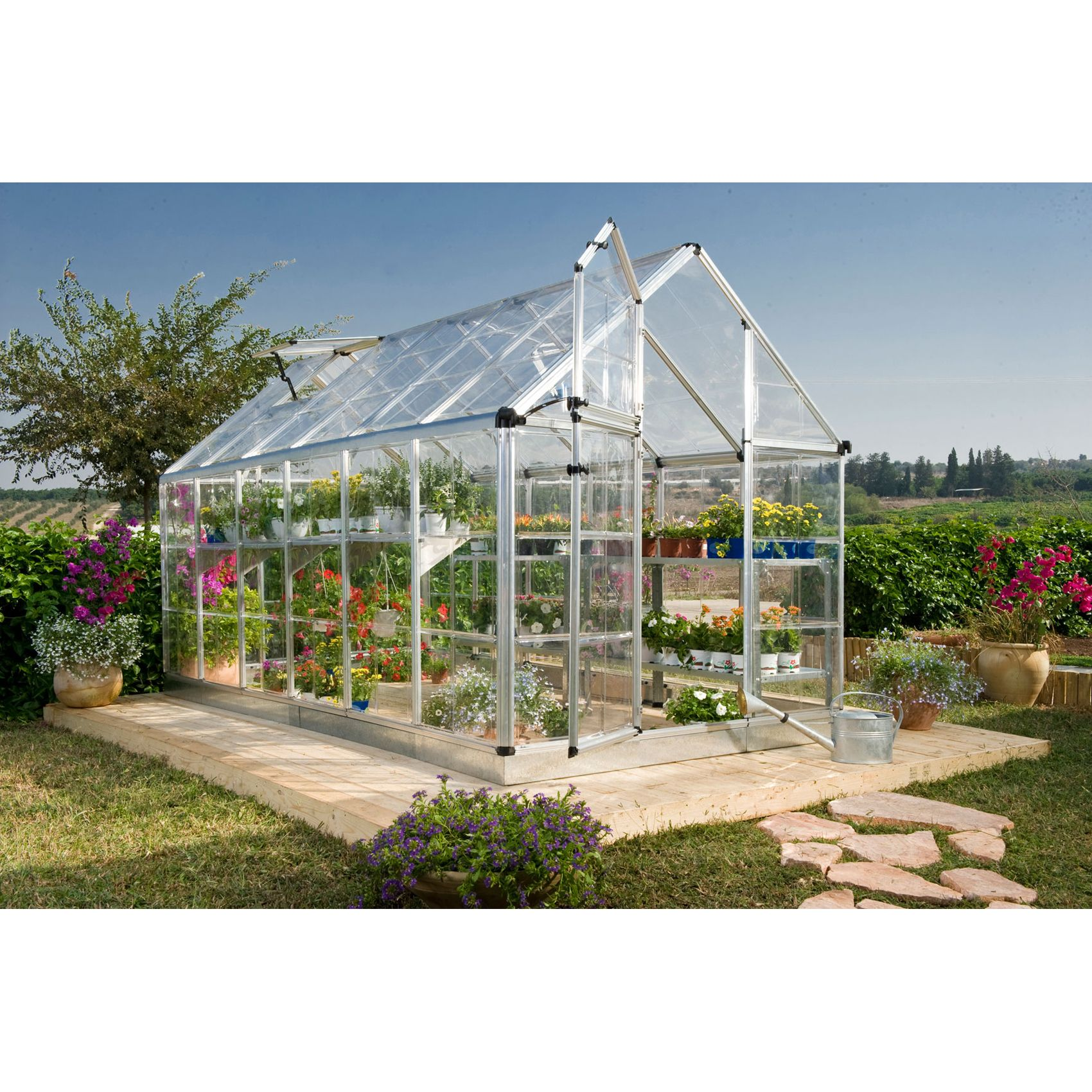 HG6016 Snap & Grow Hobby Greenhouse (6 ft. x 16 ft.)