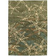 Shaw Living Rug Collection Impressions Sage Dancing Bamboo Pattern at Sears.com