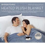 Biddeford Heated Plush Blanket at Kmart.com
