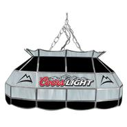 Coors Light 28 inch Stained Glass Pool Table Lamp at Kmart.com
