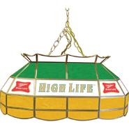 Miller High Life 28 inch Stained Glass Pool Table Light at Kmart.com