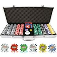Trademark 500 15g Clay Laser Las Vegas Chip Set w/ Aluminum Case at Kmart.com