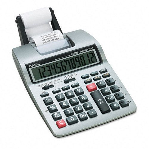 Casio HR-100TM Portable Printing Calculator