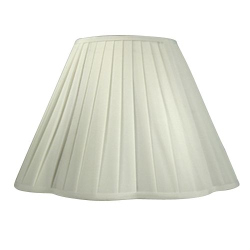 Essential Home  Lamp Shade Scalloped