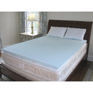 Science of Sleep Solid Polar Foam Cool Memory Foam Mattress Topper at Kmart.com