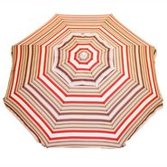 Resin 6-1/2 Ft. Patio Umbrella - Red and Brown at Kmart.com
