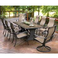 Agio Panorama 9 Pc. Patio Dining Set at Sears.com