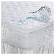 "Beautyrest Polyester Antimicrobial Waterproof 15"" Expand-a-Grip® Mattress Pad at Kmart.com"