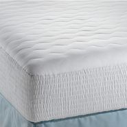 "Beautyrest 200TC Cotton Top High Loft 15"" Expand-a-Grip Mattress Pad at Kmart.com"