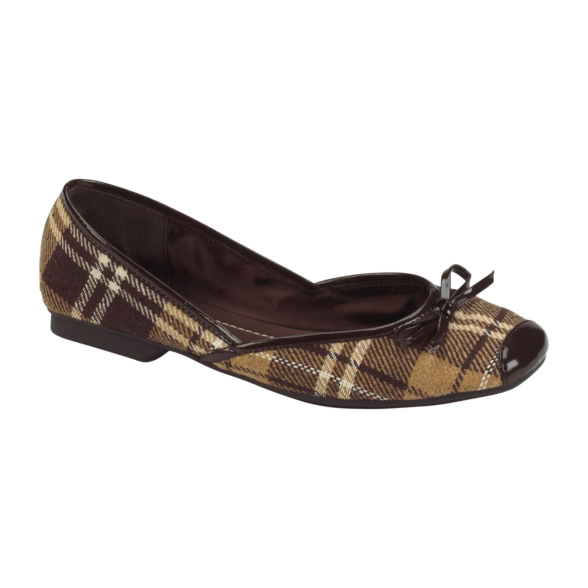 Sam & Libby  Womens Zees 2 - Brown Plaid