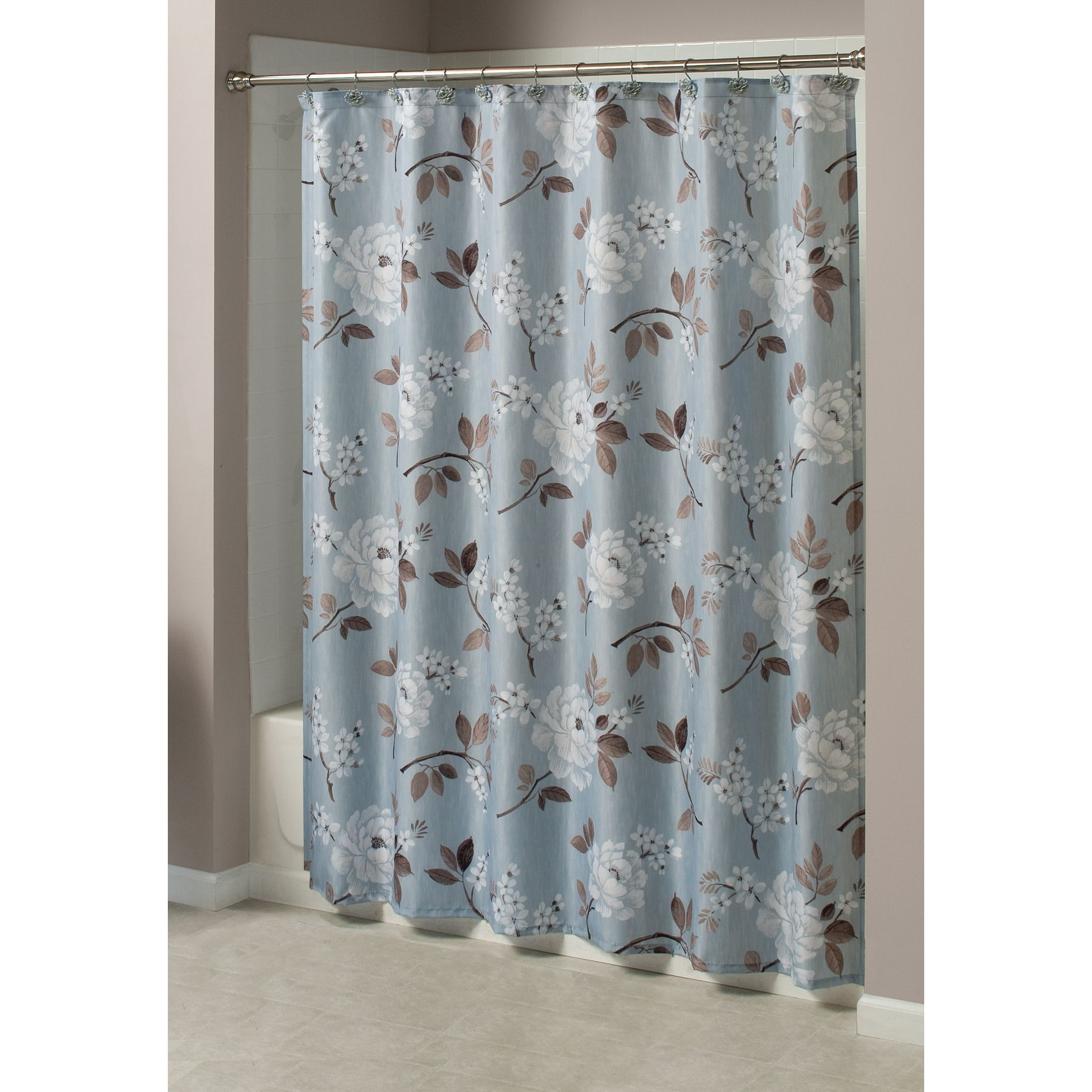 Constantine Fabric Shower Curtain