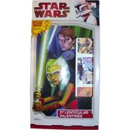 Lenticular Star Wars The Clone Wars Valentines - 27 Count at Kmart.com