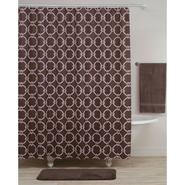 Shower Curtain Chestnut Brown Vinyl PEVA at Kmart.com