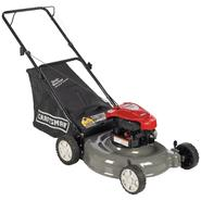 "Craftsman 5.5 Torque 158cc 21"" Briggs & Stratton Rear Bag Push Lawn Mower at Sears.com"