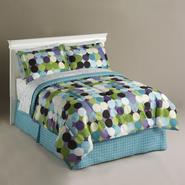 Essential Home Optic Dot Complete Bed Set at Sears.com