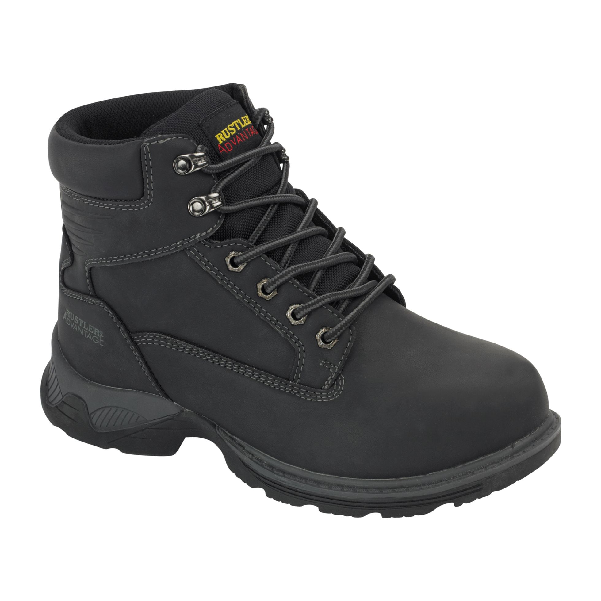 Men's Nock Work Boot Wide Width - Black