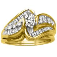 1/2cttw Diamond Ring in 10K Yellow Gold at Kmart.com