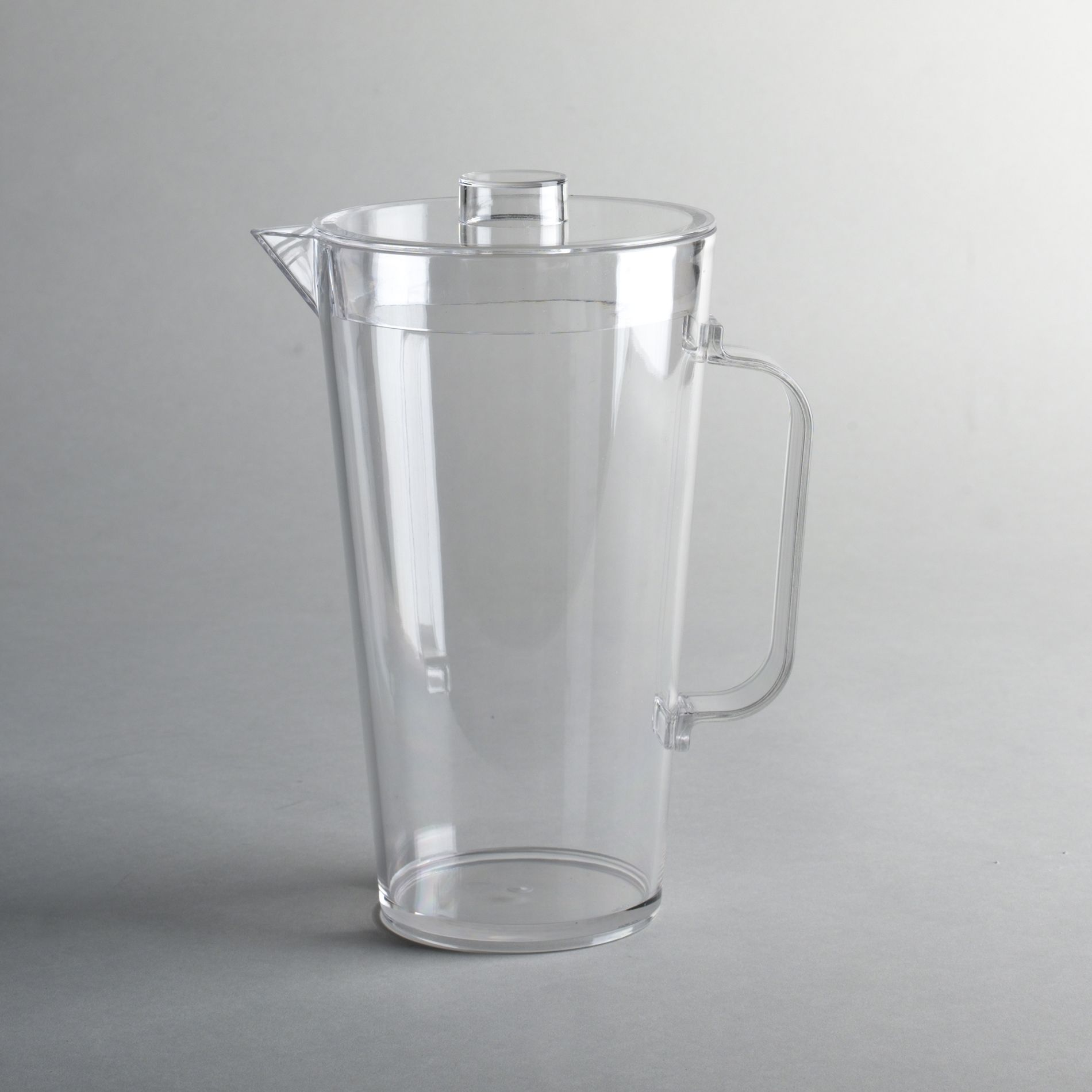 Clear Melamine 60 Ounce Pitcher With Lid