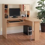 Orion L-Shaped Desk - Maple at Kmart.com