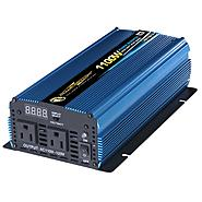 Power Bright POWER INVERTER 1100 WATT 12V DC TO 110V AC at Sears.com
