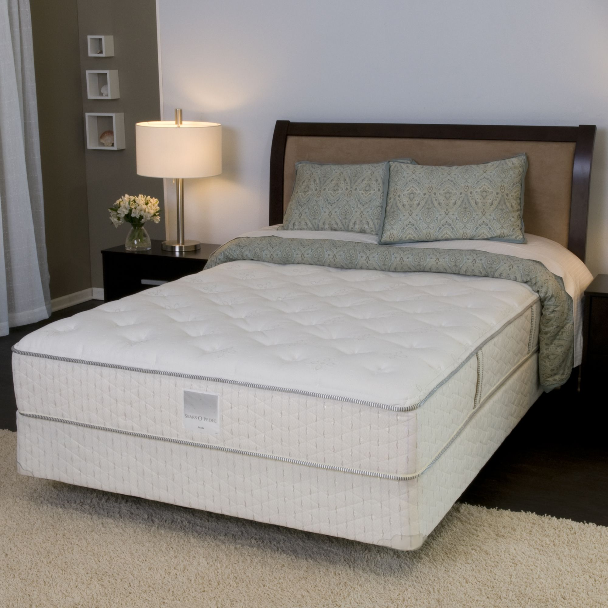 Sears-O-Pedic Queen Mattress Firm II Lucida MATTRESS ONLY