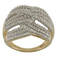 1 cttw  Diamond Ring in 10K Yellow Gold in size 7_in Size 7 at Sears.com