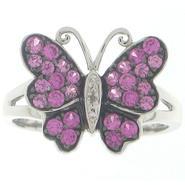 Lab Created Pink Sapphire & Diamond
