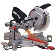 "Craftsman 12"" Single Bevel Sliding Compound Miter Saw (21239) at Craftsman.com"