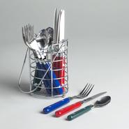 Essential Home 13 pc. Parade Multicolor Flatware with Caddy at Kmart.com